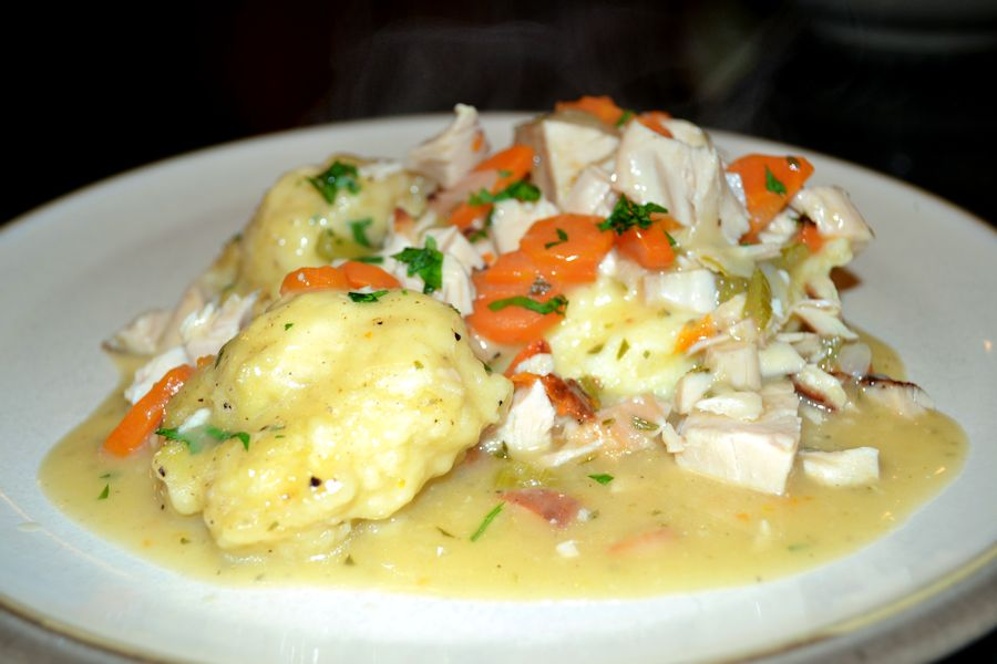 Chicken and Dumplings- Serving Plate