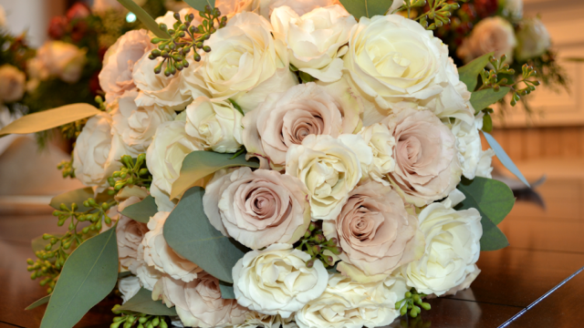 Lundgren Wedding- Bridal Bouquet