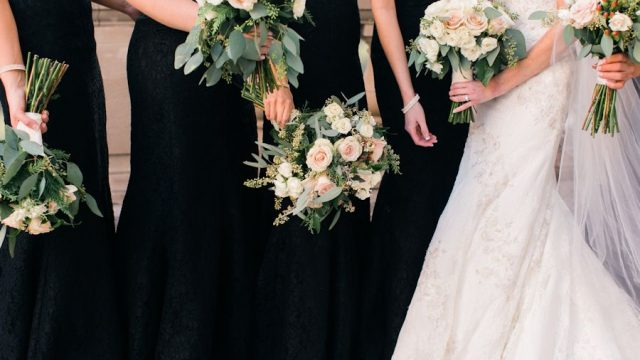 Lundgren Wedding- Bridesmaid & Bridal Bouquets