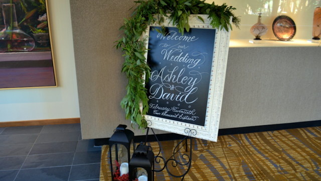 Lundgren Wedding- Welcome Sign