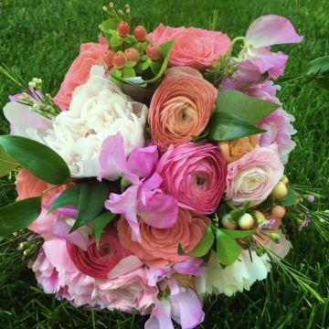 Szachowicz Wedding- Bridesmaid Bouquet